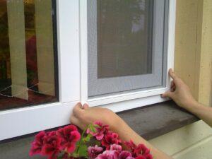 Москитные сетки на окна заказ