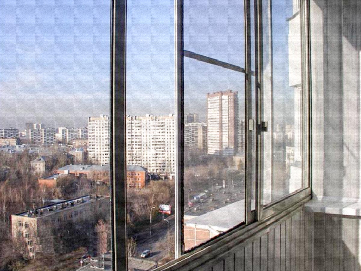 Раздвижная сетка на балкон